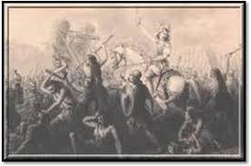 La bataille de Gergovie. César désemparé. dans Antiquité