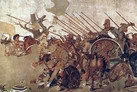 la bataille de Gaugamelès. Darius renonce à la Grèce. dans Antiquité