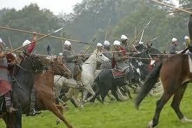 La bataille de Hastings. Les anglo saxons n'ont plus de cartes. dans batailles