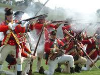 la bataille des plaines d'Abraham. Les français perdent un bras. dans batailles
